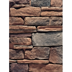 External Handmade Faux Rock Panel