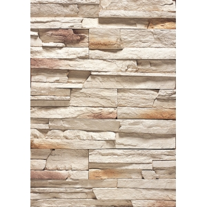 Stacked Fake Stone Facade