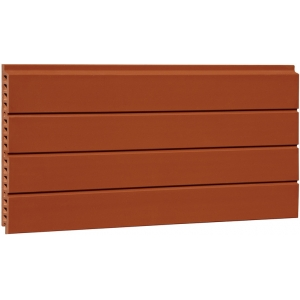 Grooved Terracotta Tiles Facade Panels
