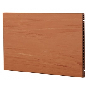 Wooden Look Dry Hanging Terracotta Panel Wall System